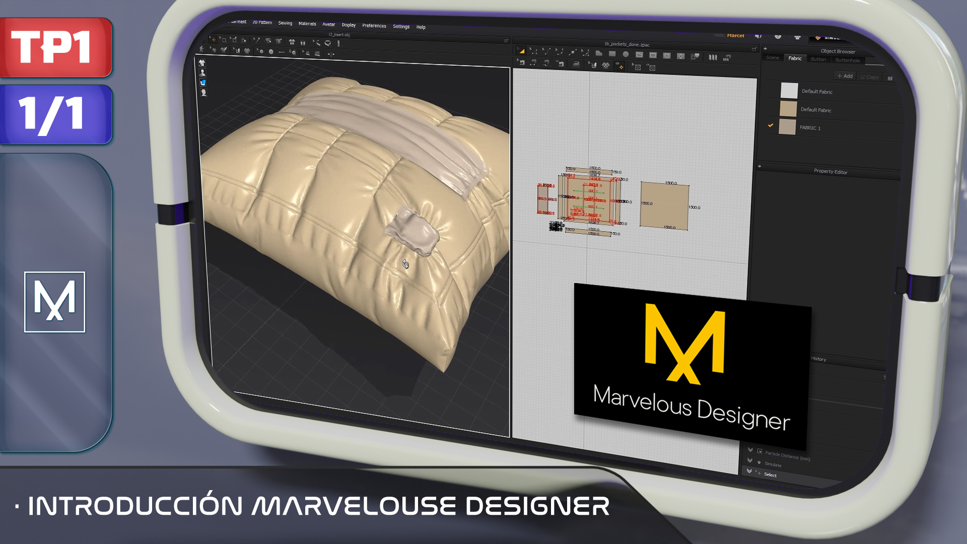 Introduccion Marvelous Designer