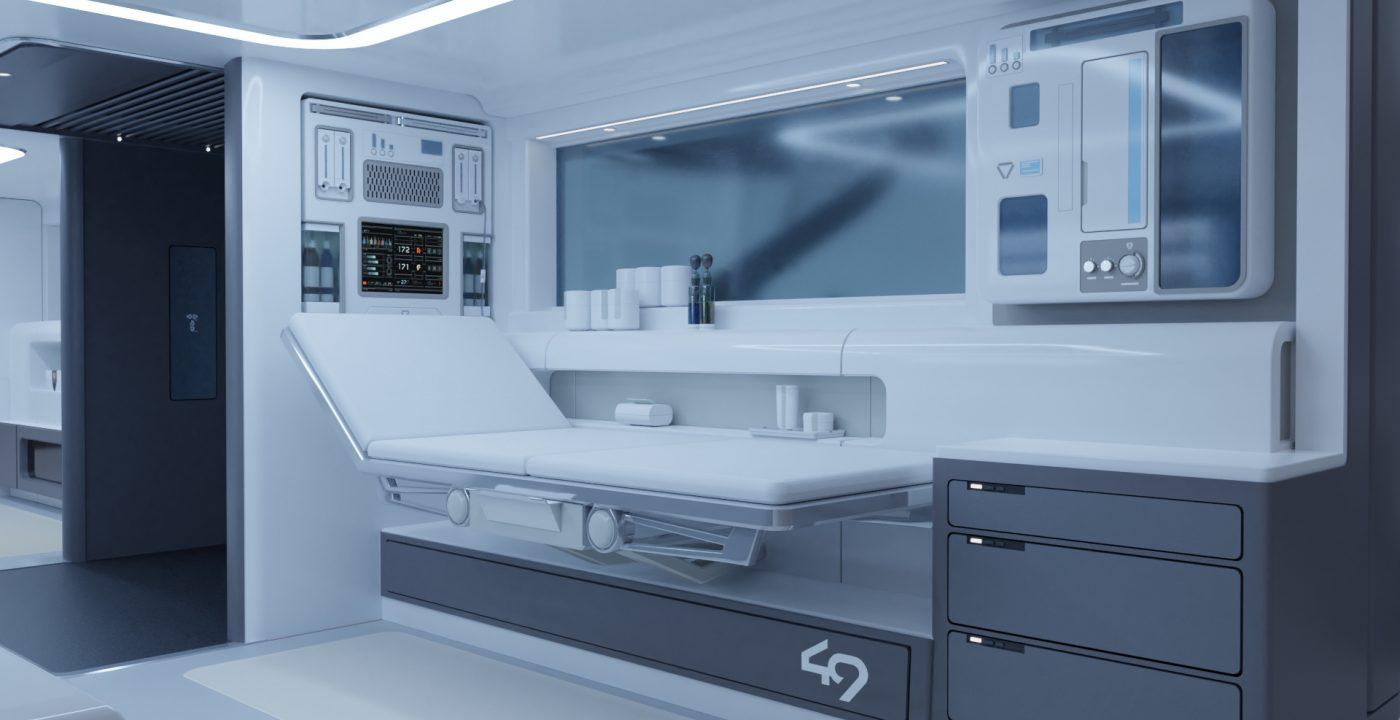 Interior Enfermería