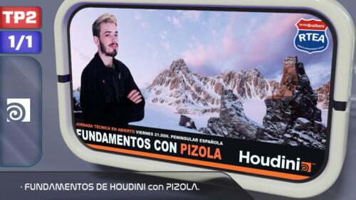Fundamentos de Houdini con PIZOLA