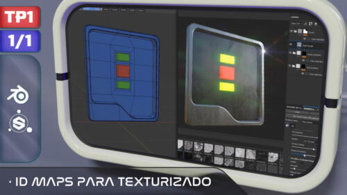 IDMaps para Texturizado